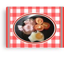 Aussie Breakfast Canvas Print