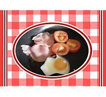 Aussie Breakfast Photographic Print