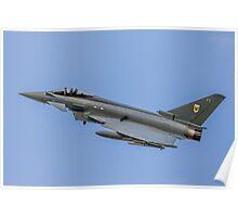 RAF Typhoon ZK330-FT Poster