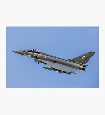 RAF Typhoon ZK330-FT Photographic Print