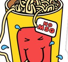 Noodle Brain Sticker