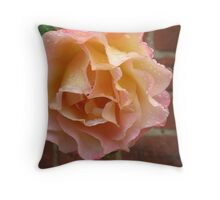 Rose Droplet  Throw Pillow