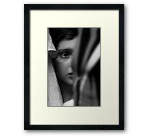 I See... Framed Print