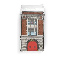 The Ghostbusters Fire Station Duvet Cover