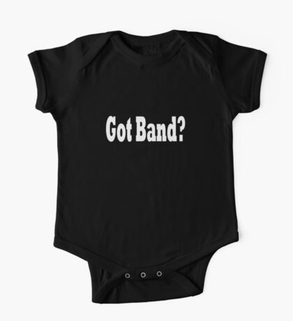Band One Piece - Short Sleeve