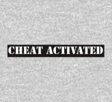 Cheat Activated Kids Tee