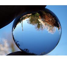 Snow Globe World? Photographic Print