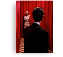 Welcome to the Black Lodge Canvas Print