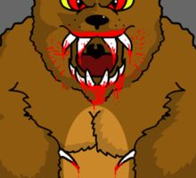 Beware the Bear Sticker