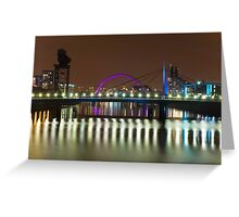 River Clyde - Glasgow, Scotland Greeting Card