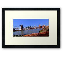 East River Perspective Framed Print