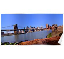 East River Perspective Poster