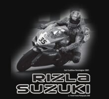 Carl Crutchlow  - Rizla Suzuki - Series 1  by Love Through The Lens