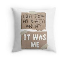But I need it! Throw Pillow