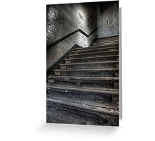 Safe Stairs Greeting Card