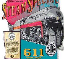 NORFOLK & WESTERN #611 STEAM SPECIAL by TrainmasterBob