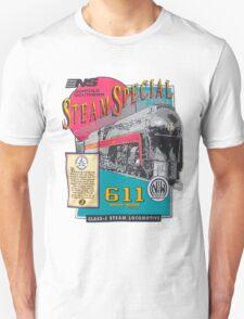 NORFOLK & WESTERN #611 STEAM SPECIAL Unisex T-Shirt