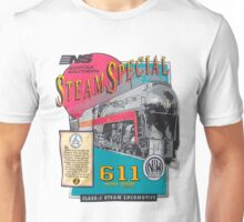 NORFOLK & WESTERN #611 STEAM SPECIAL Unisex T-Shirt
