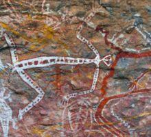Rock Art - Anbangbang - Kakadu National Park Sticker