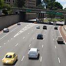 Mitchell Freeway, Perth by palmerphoto