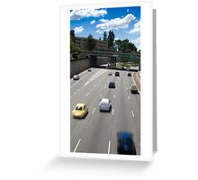 Mitchell Freeway, Perth Greeting Card