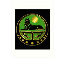 Chechen coat of arms Art Print