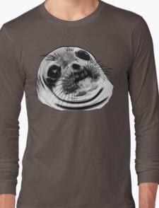 Awkward Seal Long Sleeve T-Shirt