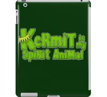 Kermit is my spirit animal iPad Case/Skin