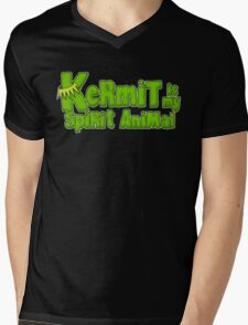 Kermit is my spirit animal Mens V-Neck T-Shirt