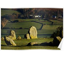 Castlerigg morning Poster