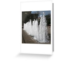 DC Fountain Greeting Card
