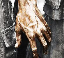 Vietnam Statue Hand by Brad Staggs