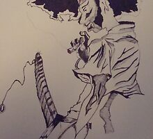 """""""afro samurai"""" by howy"""