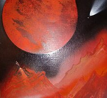 """""""red planet"""" by howy"""