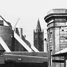 42 - LIVERPOOL ROOFTOP SCENE - DAVE EDWARDS - c.1971 by BLYTHPHOTO