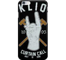 KLIQ - Curtain Call iPhone Case/Skin