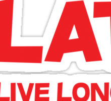 Dilate To live longer Sticker