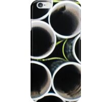 Looking inside the pipes ~ pillow collection iPhone Case/Skin