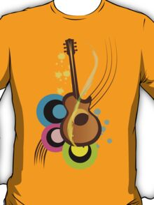 Abstract Guitar for Tshirts T-Shirt
