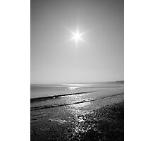 Black and white sunrise Photographic Print
