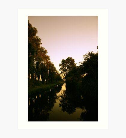 Waterway Art Print