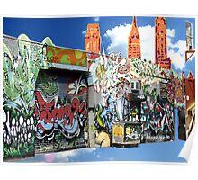 Graffiti in Brooklyn Poster