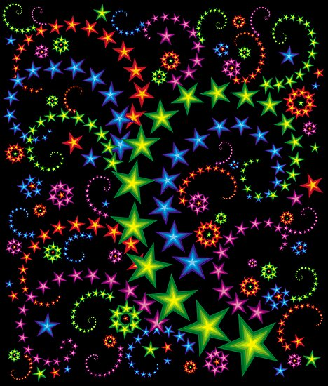 vivid star composition by VioDeSign