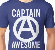 Captain Awesome Funny Unisex T-Shirt