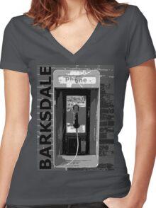 BARKSDALE Women's Fitted V-Neck T-Shirt