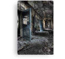 Unhinged and singed Canvas Print