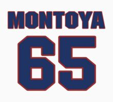 National football player Max Montoya jersey 65 by imsport
