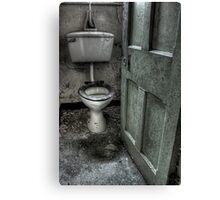 Obligatory Toilet Canvas Print