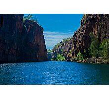 Nitmiluk Gorge - Katherine River - Katherine Photographic Print