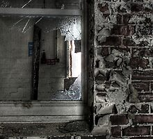 Weathered window by Richard Shepherd
